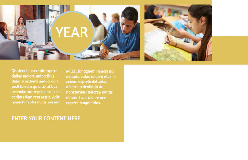 Leading Art & Design School Postcard Template Preview 3