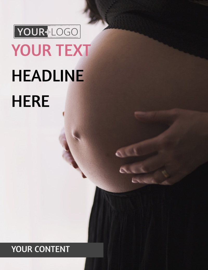 Pregnancy Counseling Flyer Template Preview 2