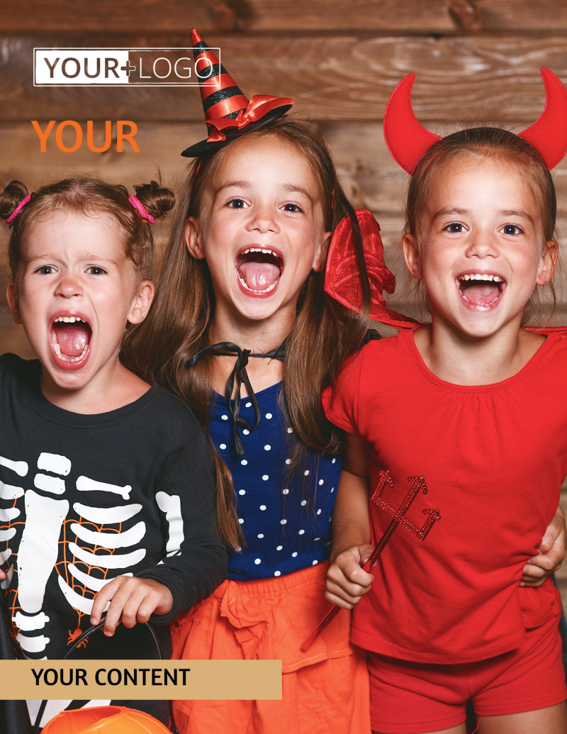 Halloween Costumes Flyer Template Preview 2