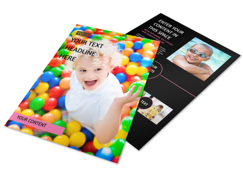 Childrens Activity Centers Flyer Template Preview 1