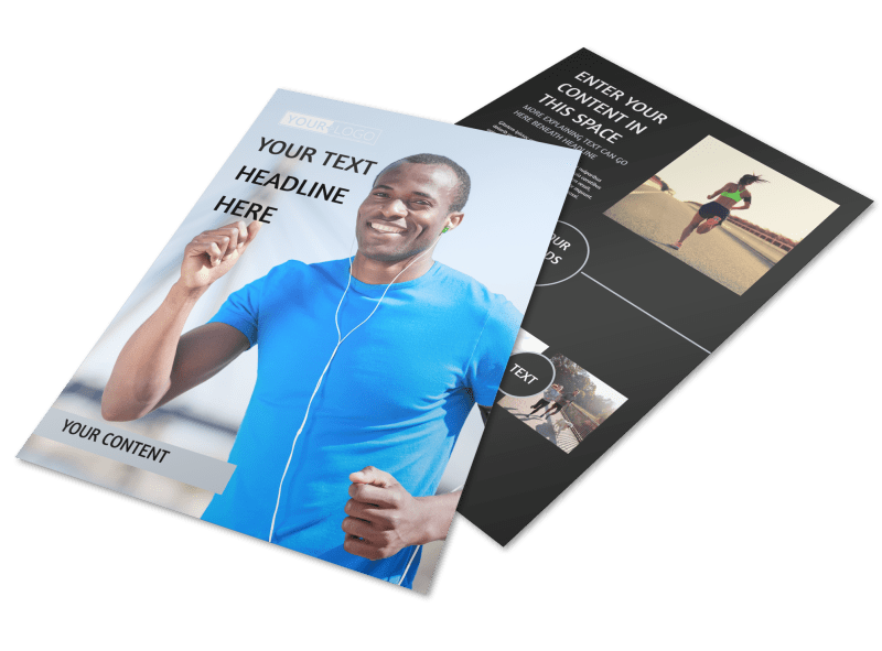 Running Clubs Flyer Template Preview 1