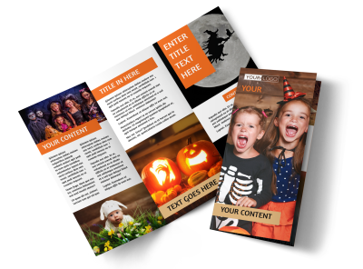 Halloween Brochures Template Preview