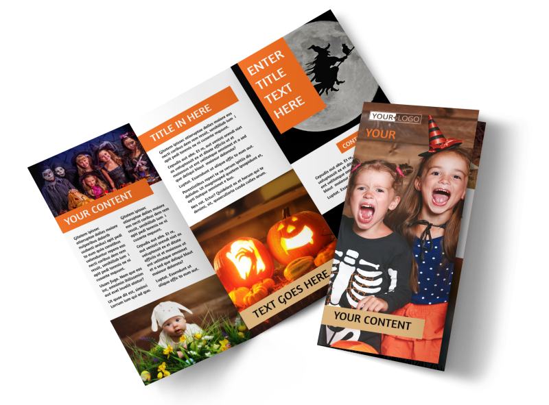Halloween Costumes Brochure Template Preview 1