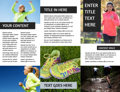 Running Clubs Brochure Template Preview 2