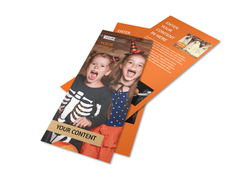Halloween Costumes Flyer Template Preview 1