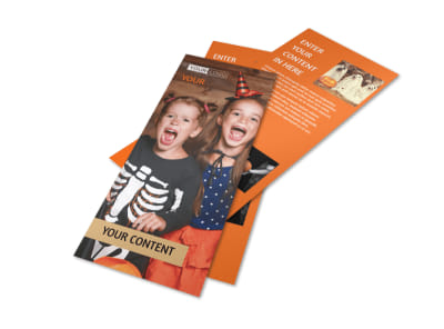 Halloween Costumes Flyer Template 2