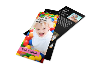 Childrens Activity Centers Flyer Template 2
