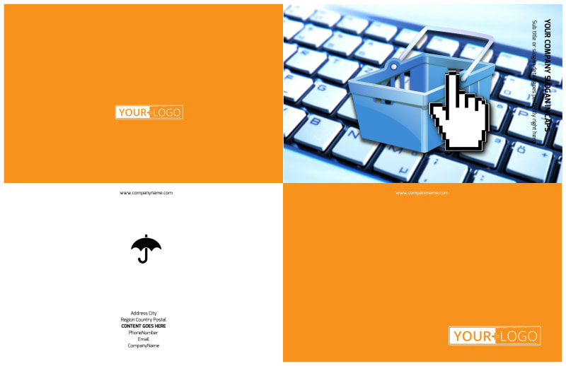 Ecommerce Business Consulting Brochure Template Preview 2