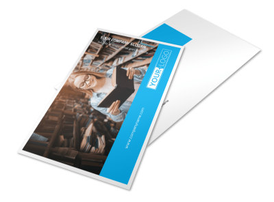 Book Store Postcard Template 2 preview