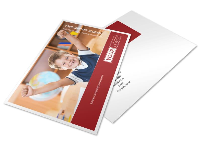 Catholic School Postcard Template 2