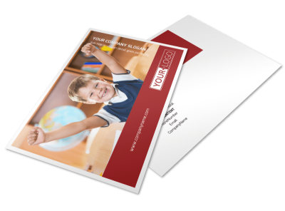 Catholic School Postcard Template 2 preview