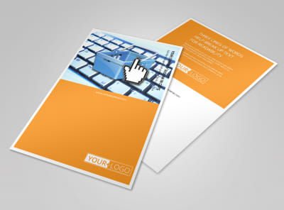 Ecommerce Business Consulting Flyer Template 3