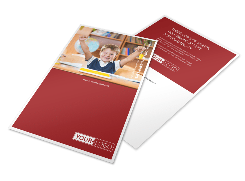 Catholic School Flyer Template Preview 1
