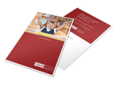 Catholic School Flyer Template 3