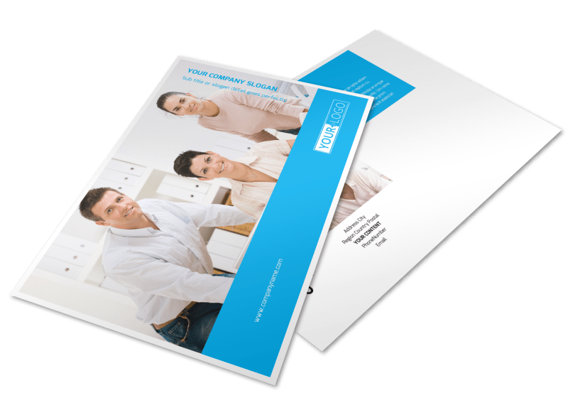 Credit Counseling Postcard Template Preview 1