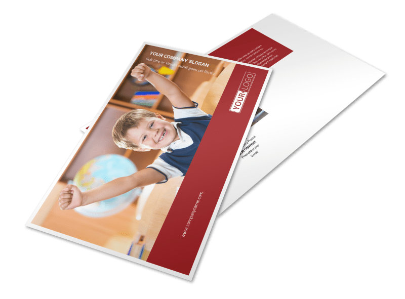 Catholic School Postcard Template Preview 4