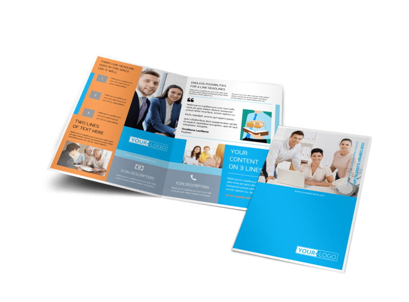 Credit Counseling Bi-Fold Brochure Template