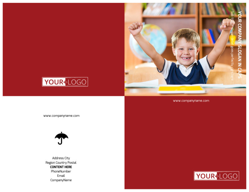 Catholic School Brochure Template Preview 2