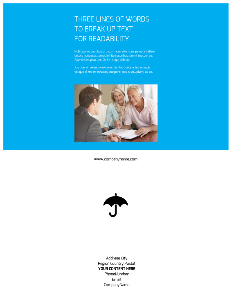 Credit Counseling Flyer Template Preview 3