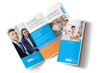 Credit Counseling Tri-Fold Brochure Template preview