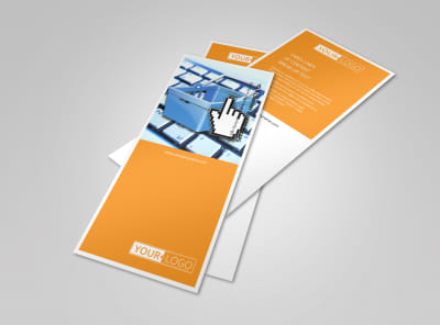 Ecommerce Business Consulting Flyer Template 2