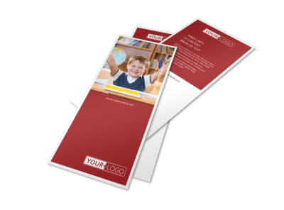 Catholic School Flyer Template 2