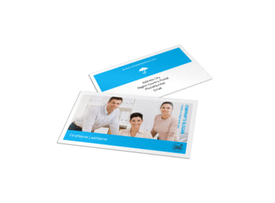 Credit Counseling Business Card Template preview