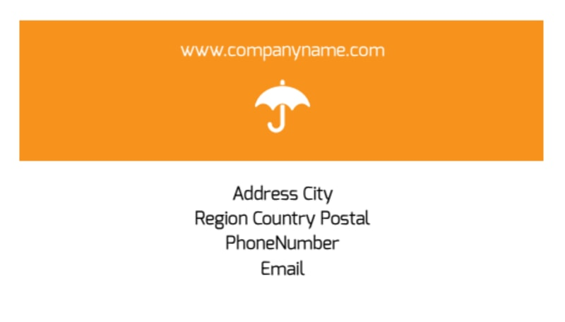 Ecommerce Business Consulting Business Card Template Preview 3