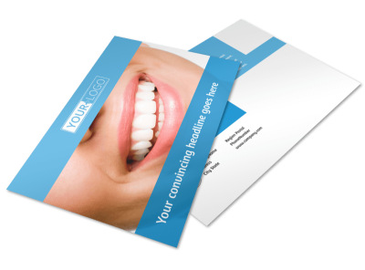 Best Smile Dental Care Postcard Template 2