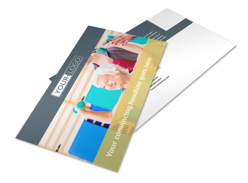 Physiotherapy Postcard Template 2