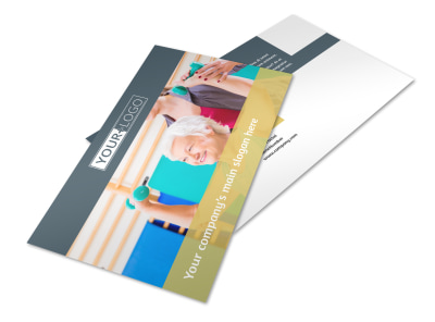 Physiotherapy Postcard Template 2 preview