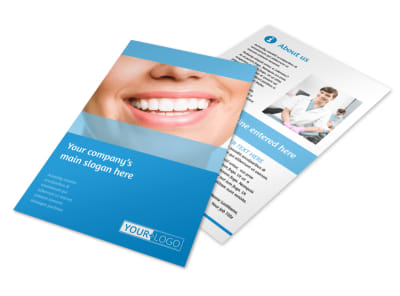 Best Smile Dental Care Flyer Template 3