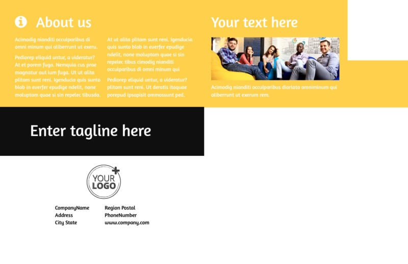Project Management Consulting Firm Postcard Template Preview 3
