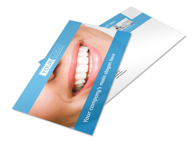 Best Smile Dental Care Postcard Template Preview 4