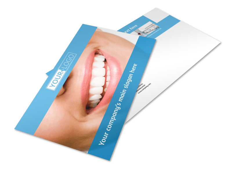 Best Smile Dental Care Postcard Template Preview 1