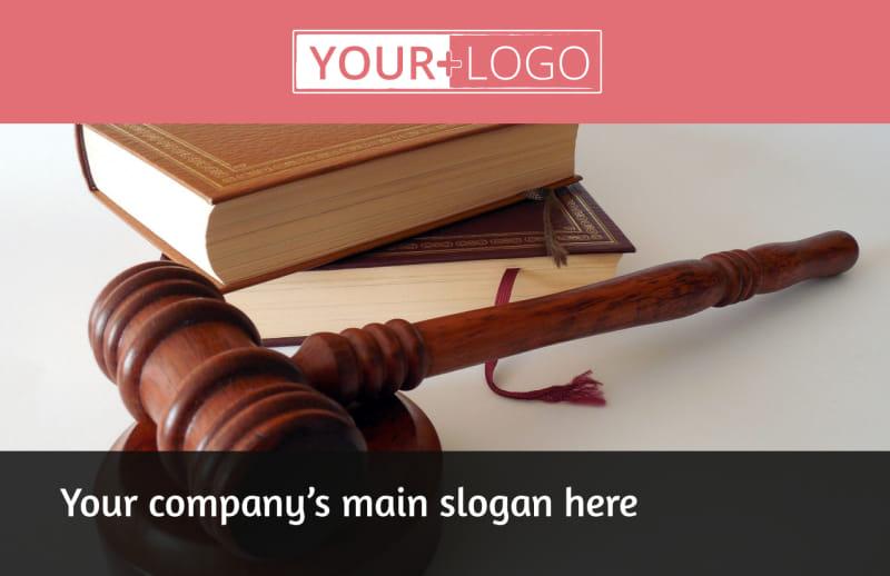 Litigation & Transactional Law Firms Postcard Template Preview 2