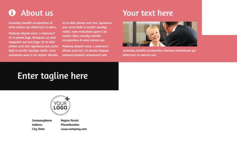 Litigation & Transactional Law Firms Postcard Template Preview 3