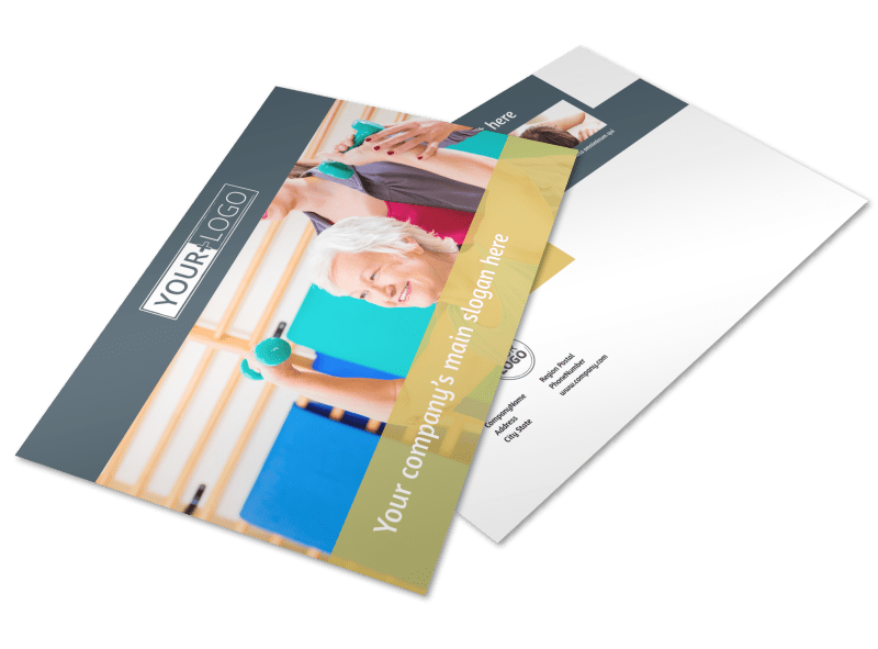 Physiotherapy Postcard Template Preview 1
