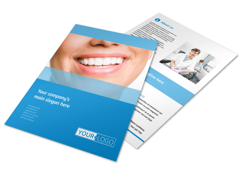Best Smile Dental Care Flyer Template Preview 1