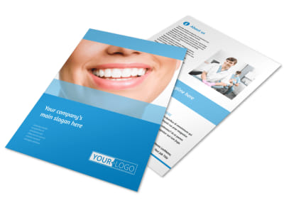 Best Smile Dental Care Flyer Template preview