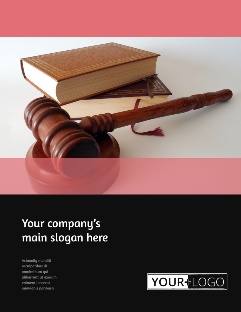 Litigation & Transactional Law Firms Flyer Template Preview 2