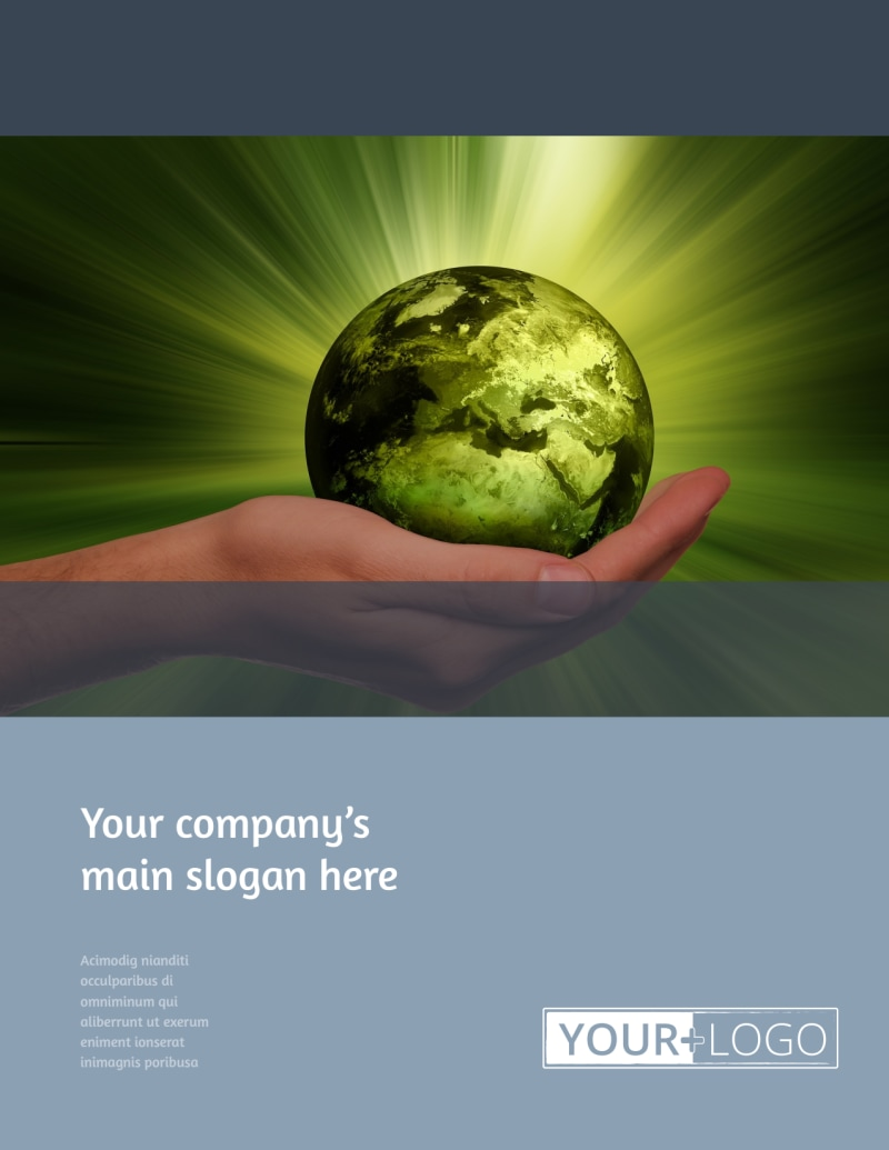 Energy Conservation Consultants Flyer Template Preview 2
