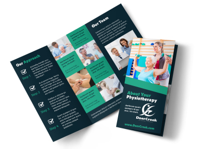 Physiotherapy Tri-Fold Brochure Template