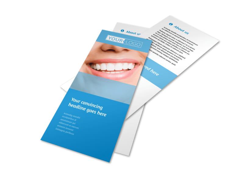 Best Smile Dental Care Flyer Template 2