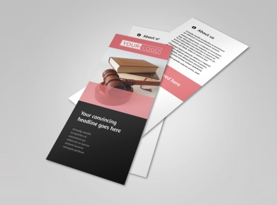 Litigation & Transactional Law Firms Flyer Template 2