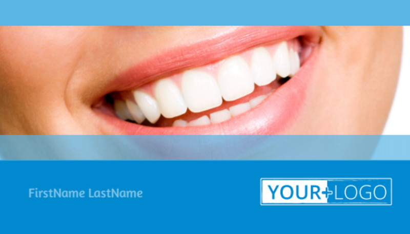 Best Smile Dental Care Business Card Template Preview 2