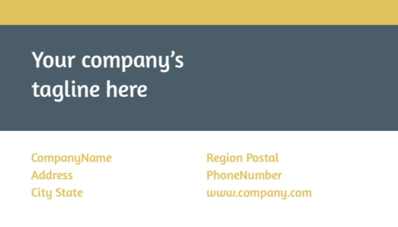 Physiotherapy Business Card Template Preview 3