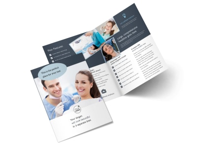 Family Dentistry Bi-Fold Brochure Template 2