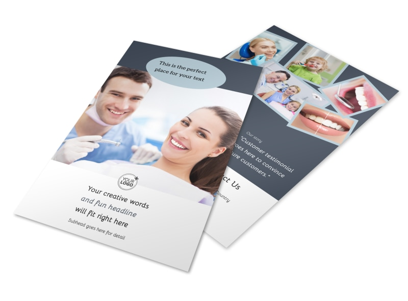 Family Dentistry Flyer Template 3