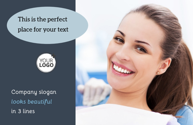 Family Dentists Postcard Template Preview 2